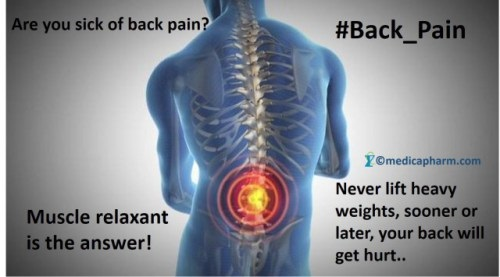 Chlorzoxazone and Back Pain Chlorzoxazone, one of the best muscle relaxants for back pain!